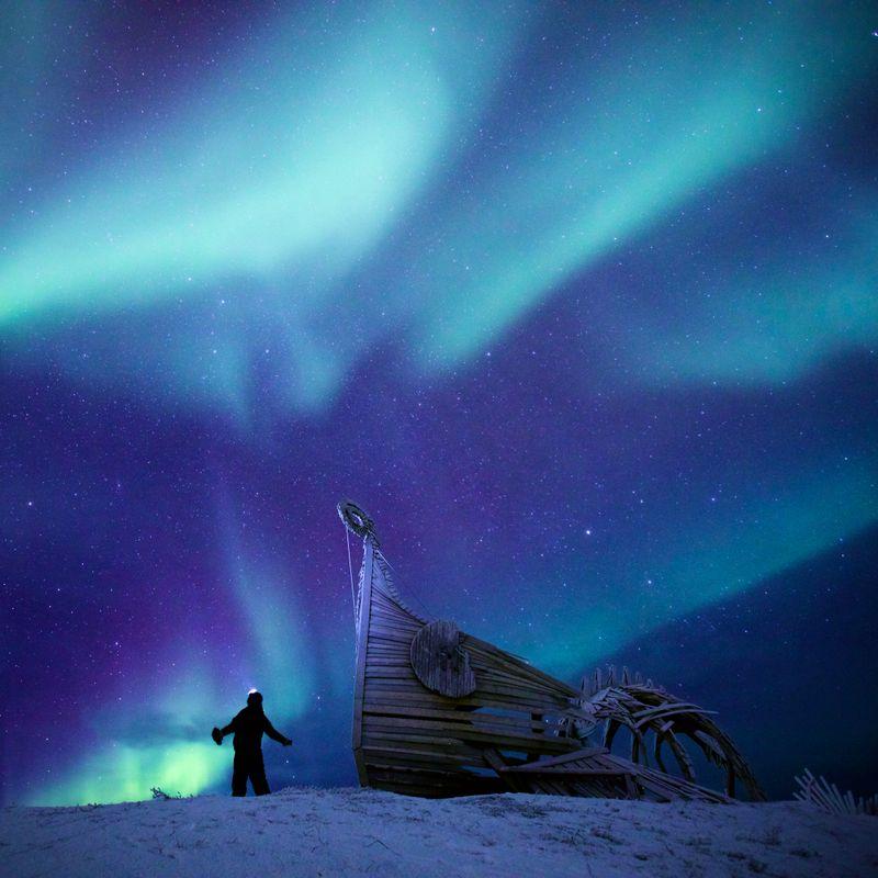 Vardø - Nordlystur på julaften 2.0