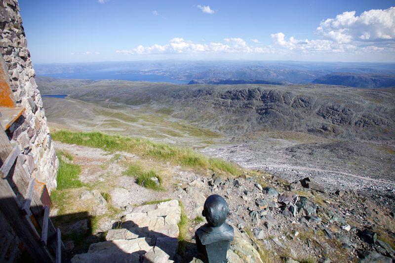 Utsikten fra Haldde